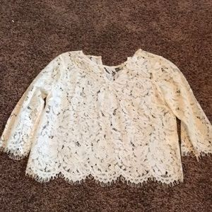 Tops - Lace crop top